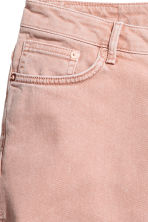 Denim shorts - Powder pink - Ladies | H&M CA 4